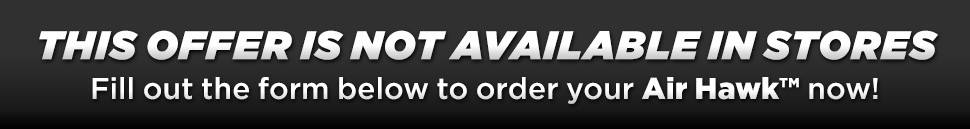 Fill Out The Form Below To Order Your Air Hawk™ Automatic Cordless Tire Inflator Today